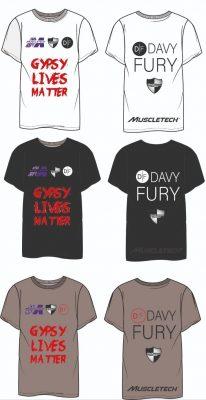 Dave Fury Fan Shirts