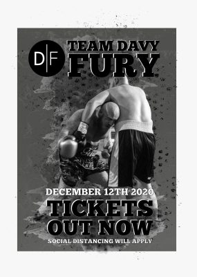 Davy Fury Fight Tickets