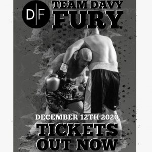 Davy Fury Fight Tickets